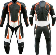 Custom Made Motorcycle Leather Motor Bike Racing Leather Suit, 1 Pcs / 2 Pcs