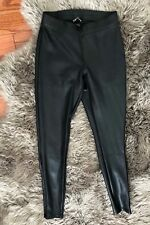 New Express Leggings Faux Leather Snake Print XS