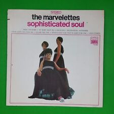 MARVELETTES Sophisticated Soul TS286 LP Vinyl VG++ Cover VG+ 1968 Tamla