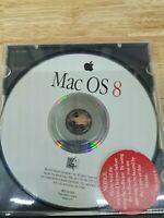 Apple Mac OS System 8.0 1997 B97050-098A version 8.0 UK