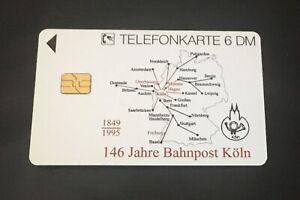 Telefonkarte 146 Jahre Bahnpostamt Köln