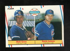 Mark Grace Rookie Card--1988 Fleer Baseball Card--Chicago Cubs