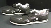 Omega Men's Comfort Zone Black Athletic Shoes/Sneakers, Size 15D