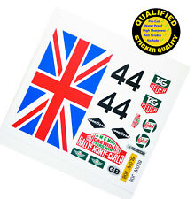 Custom sticker for LEGO 10242 Mini Cooper(UK Version), top sticker only.