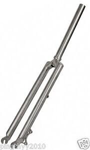 "J&L Titanium Rigid 1&1/8"" MTB Fork-for 26"",29er,700C-Straight-XC&CycloCross/508g"