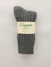 Donegal Dark Grey  - 100% Wool Walking socks  (8 - 12) - New - Made In Ireland