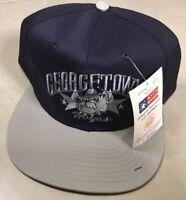 NWT Vtg 90s GEORGETOWN HOYAS Vintage Sports Specialties Script Snapback Cap Hat