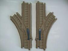 * Thomas and Friends Trackmaster System - Left and Right Y Curve Switch Track *