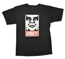 OBEY Andre the Giant T-Shirt Mens Size Small Black SHEPARD FAIREY Classic Tee