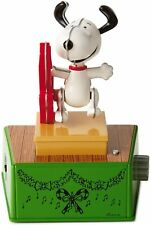2017 Snoopy Hallmark Peanuts Christmas Dance Party Wireless Music Motion Band
