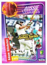 Adam Gilchrist Sport Australia Batsman Cricket Trading Card Weet Bix