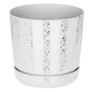 Indoor plant pots with saucers and drain holes plastic flowerpot small large