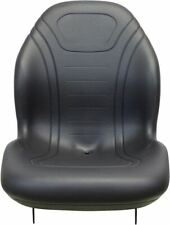 Ford New Holland Black Seat With Hinge Brackets Fits 45 Tc23da Tc25 2030 T1010