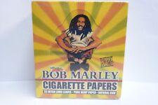 50 Packs Bob Marley King Size Pure Hemp Cigarette Rolling Paper!