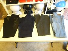 LOT OF 4 H&M PLUS Jeans Womens Cigarette Skinny Dark Wash BLACK WASH Jean SZ 13
