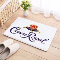 Carpet Mat Crown Royal Floor Cotton Door Anti Slip whiskey rug