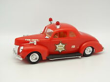 MPC Maqueta Plástico 1/24 - Ford 1940 Fire Chief Bomberos
