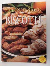 Lilliput Ricette Biscotti - libretto Tascabile 14x10 cm