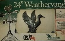 """New in box 24"""" Whitehall Duck Weather Vane Handcrafted in USA Metal Aluminum"""