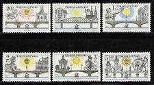 CHECOSLOVAQUIA/CZECHOSLOVAKIA 1978 MNH SC.2179/2184 Bridges