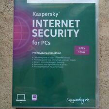 Kaspersky Internet Security Free Upgrade to 2017/2018 3 PCs Windows 7/8/10 3PC