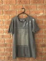 Robert Geller Dusty Grey Metropolis Tee Sz 50
