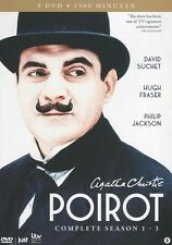 Agatha Christie's Poirot : Complete season 1 - 3 (9 DVD)