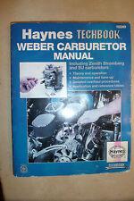 WEBER CARBURETTORS HAYNES TECHBOOK WORKSHOP MANUAL DAF IDT DFT+ +ZEN CD +SU H HD