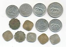 India-British 40´s Lot 13 Coins all Different