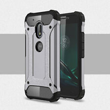 Antichoque TPU+PC 2in1 Funda Híbrida Para Motorola Moto G4/G4 Plus/G4 Play