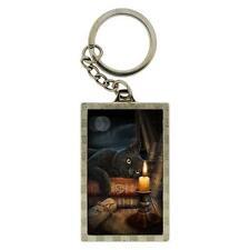 3D Witching Hour Black Cat Keyring, metal key-chain by Nemesis Now b0674b4