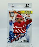 2021 Topps Baseball Series 1 Hanger Box 67 Cards Per Box MLB Factory Sealed🔥