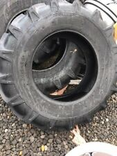 TWO 14.9X24 AGSTAR R1 TUBELESS 12PLY TRACTOR OR BACKHOE HEAVY DUTY TIRES