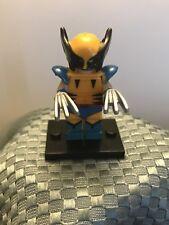 New Custom LEGO Minifigure Marvel Superhero X-Men Wolverine Comic Book Version