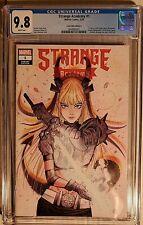 Strange Academy 1 Comic Book CGC 9.8 Peach Momoko Trade Variant