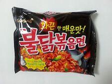 Korean Buldakbokeum Ramen  Super Spicy Chicken Instant Noodles Food (1,3,5 Pcs)