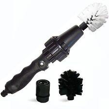 Brush Hero Wheel Brush Premium Water-Powered Turbine for Rims Engines Bikes