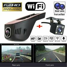 HD 1080P WIFI Car DVR Hidden Camera Front Rear Dash Cam Dual Lens Video Recorder