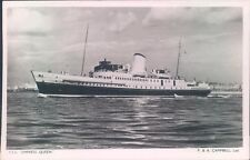 Postcard Shipping Passenger Steamer T.S.S Empress Queen Real photo Unposted