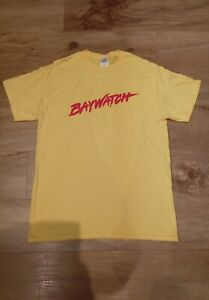 80s Lifeguard Top Tshirt Fancy Dress Costume Outfit Ladies Mens Womens Stag Hen