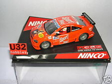 NINCO 50268 SLOT CAR OPEL ASTRA V8 COUPE #3  60 SECONDS  WINKELHOCK   MB