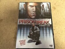 * DVD TV NEW SEALED * PRISON BREAK SEASON ONE *