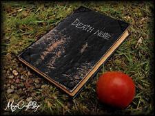 Death NOTE BOOK-REPLICA notebook con ORIGINALE pagine stampate su pergamena Pape