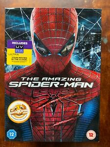 Amazing Spider-Man DVD 2011 Marvel Universe Superhero Film Movie w/ Slipcover