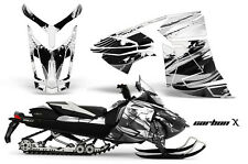 AMR RACING SKI DOO REV-XR GSX SUMMIT KIT SNOWMOBILE SLED STICKER WRAP 2013 CBN W