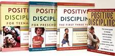 Positive Discipline,First Three Years,Preschool + by Jane Nelsen 4 Paperback Set
