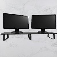 Double Monitor Laptop Table Stand Notebook Holder Platform Computer Screen Riser