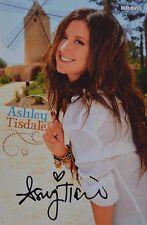 ASHLEY TISDALE - Autogrammkarte - Autograph Autogramm Fan Sammlung Clippings