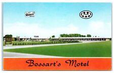 Bossart's Motel, Moorhead, MN Vintage Postcard