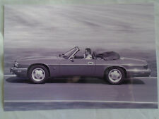 Jaguar XJS Cabriolet press photo brochure 1994